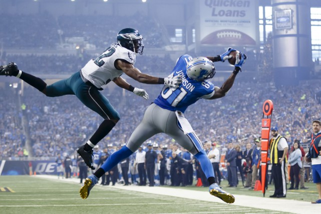 En carrière, Calvin Johnson a capté 731 passes... (Archives Associated Press)