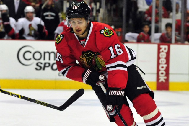 Marcus Kruger... (PHOTO DAVID BANKS, ARCHIVES USA TODAY SPORTS)