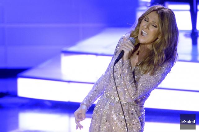 Céline Dion... (Photothèque Le Soleil)