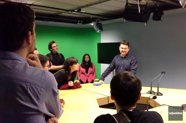 Une visite de l'Institut universitaire de technologie (IUT)... (PhotoLe Quotidien, Catherine Doré)