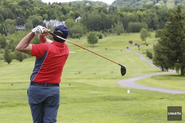 Le Golf Château-Bromont a frappé un grand coup... (Alain Dion, Archives La Voix de l'Est)