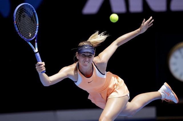 Maria Sharapovaa révélé qu'elle avait subi un test... (AP, Aaron Favila)