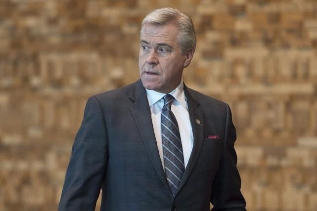 Le premier ministre Dwight Ball prévient les Terre-Neuviens... (Jonathan Hayward, Archives La Presse Canadienne)