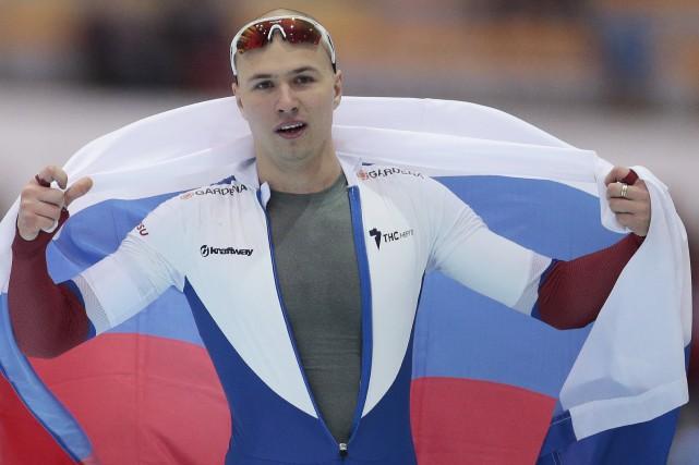 Les adversaires de Pavel Kulizhnikov n'ont pas été... (AP, Ivan Sekretarev)