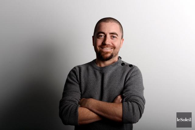 Patrick Beaulieu, cofondateur de Squeeze Studio Animation... (Le Soleil, Erick Labbé)