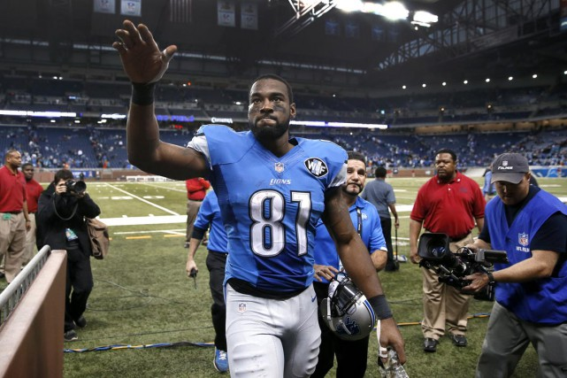 Calvin Johnson... (Associated Press)