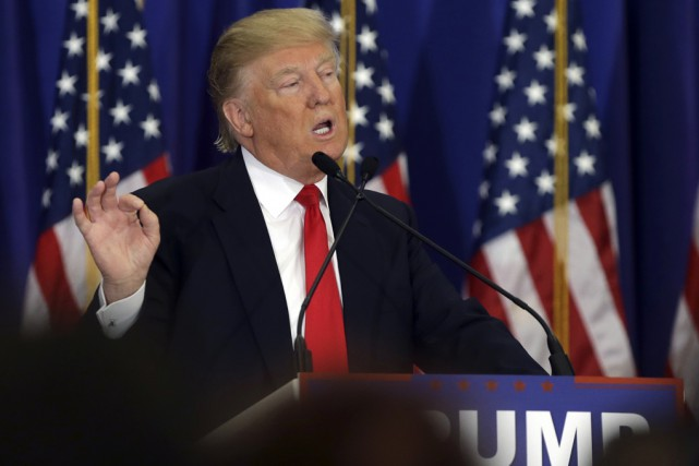 Donald Trump a remporté facilement le Mississippi contre... (Associated Press)
