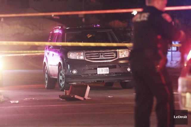 Un homme a été atteint par balle sur... (Etienne Ranger, LeDroit)