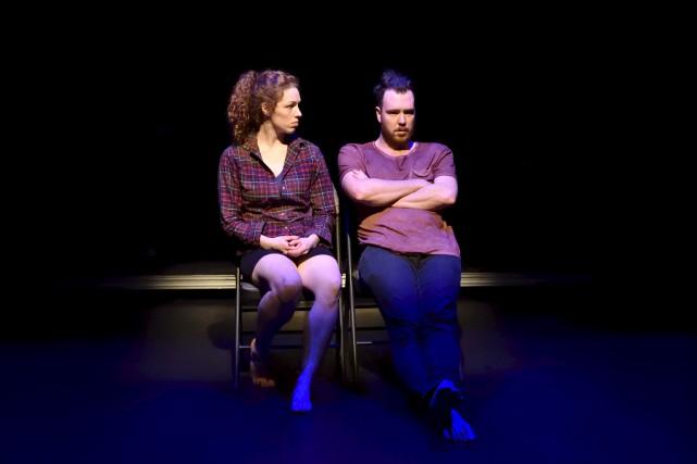 Gabrielle Lalonde et Maxime Lavoie se donnent la... (Courtoisie, Marianne Duval)