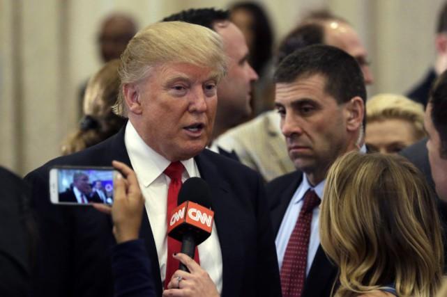 Donald Trump est en bonne voie de réaliser ce que personne n'aurait osé prédire... (Associated Press)