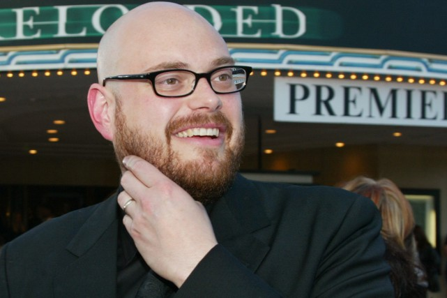 Andy Wachowski à la première du film The... (PHOTO ARCHIVES REUTERS)