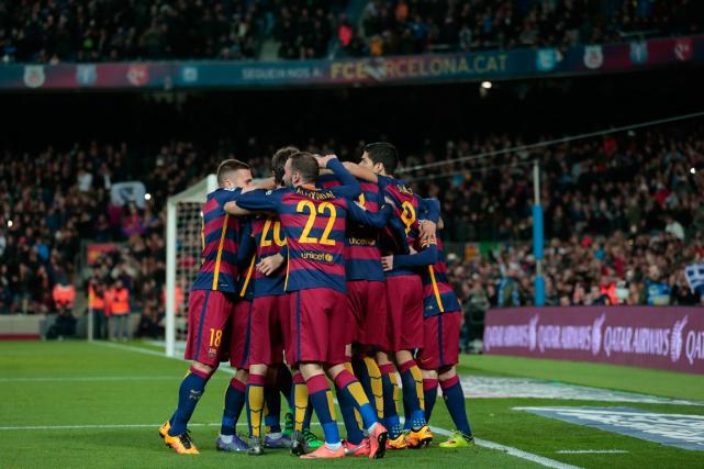 Le Camp Nou est le stade où évolue... (Photo Manu Fernandez, AP)