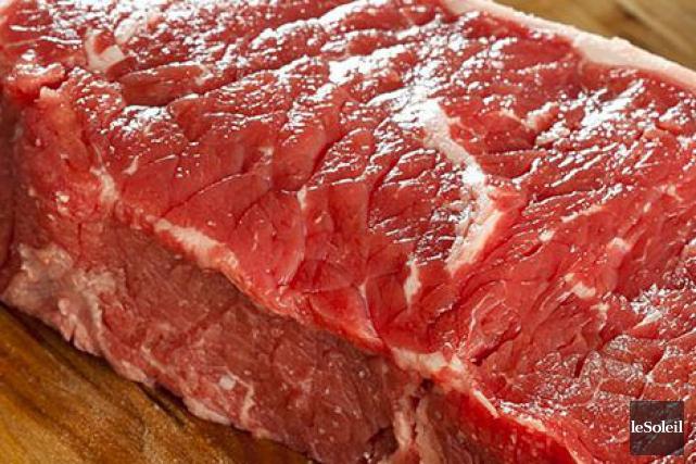 Pouvoir manger de la viande crue a entraîné chez nos ancêtres certains... (Photo archives Le Soleil)