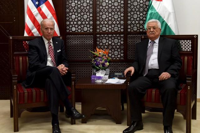 Le vice-président américain Joe Biden a rencontré en... (PHOTO DEBBIE HILL, REUTERS)