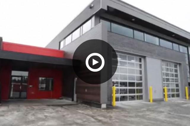 Le 16 mars prochain, les pompiers de la caserne Jacques-Denault de Sherbrooke... (Capture d'écran)