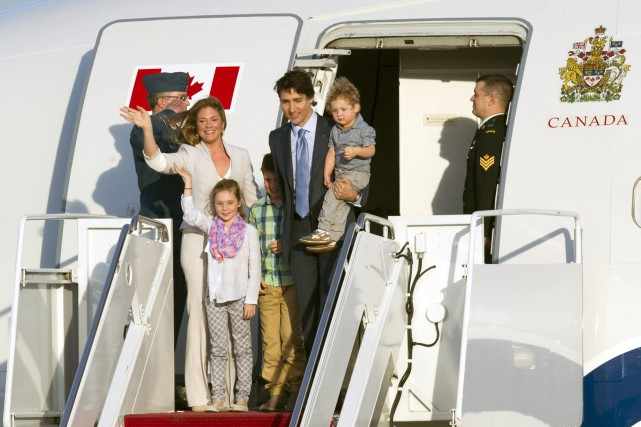 Le premier ministre Justin Trudeau peu après son... (PHOTO CLIFF OWEN, ASSOCIATED PRESS)