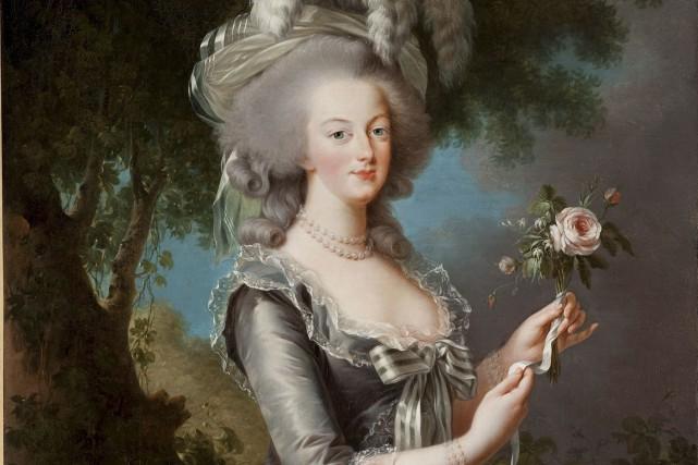 Portrait de la reine Marie-Antoinette dit à la... (Courtoisie)
