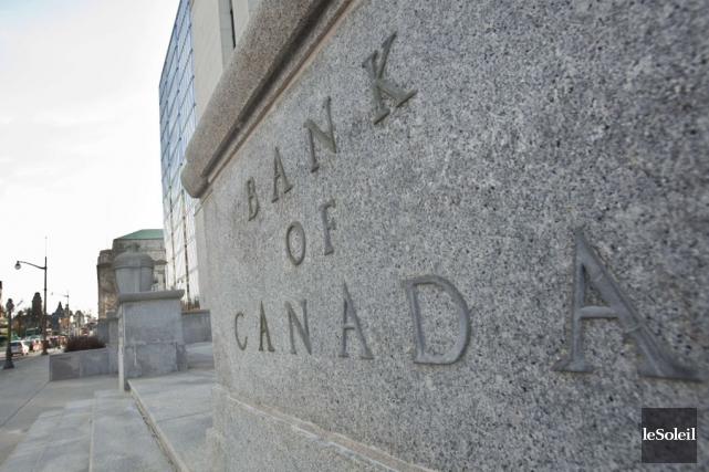 La Banque du Canada avait aussi laissé son... (Photothèque Le Soleil)