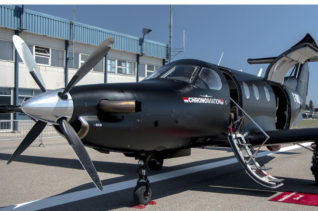 Si Chrono Aviation s'implante à l'aéroport de Bromont,... (Photo tirée du site de Chrono Aviation)
