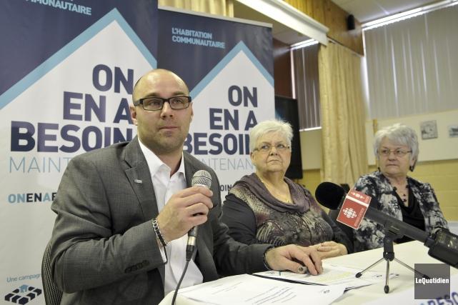 Alain Marcoux, Édith Beaulieu et Ghislaine Hudon participaient... (Photo Le Quotidien, Rocket Lavoie)