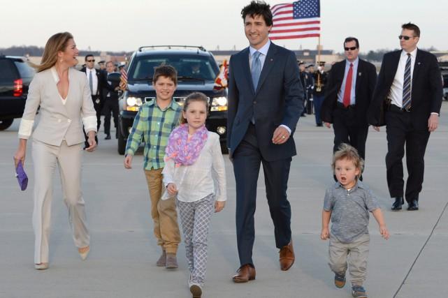 Justin Trudeau est arrivé mercredi à Washington pour... (La Presse Canadienne)
