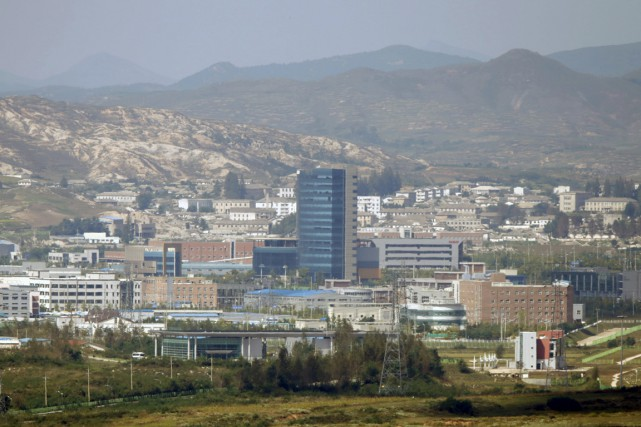 Le complexe industriel de Kaesong, le long de... (Photo Lee Jae-Won, Reuters)