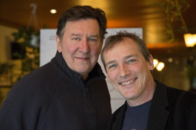 Le comédien Gilles Renaud et le réalisateur Louis... (Spectre Média, René Marquis)