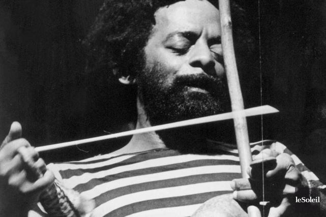 Nana Vasconcelos était un maître des percussions brésiliennes,... (Archives Le Soleil)