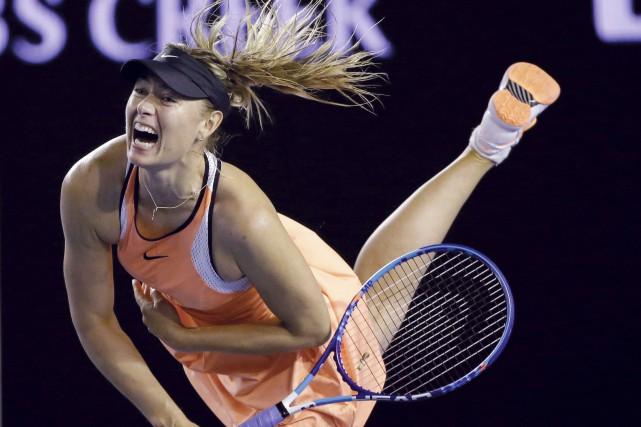 Maria Sharapova... (AP, Aaron Favila)