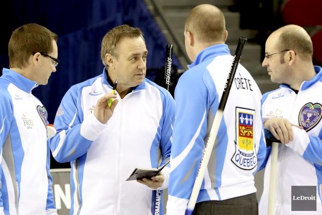 Sept fois champion du Québec, Pierre Charette participe... (Patrick Woodbury, LeDroit)