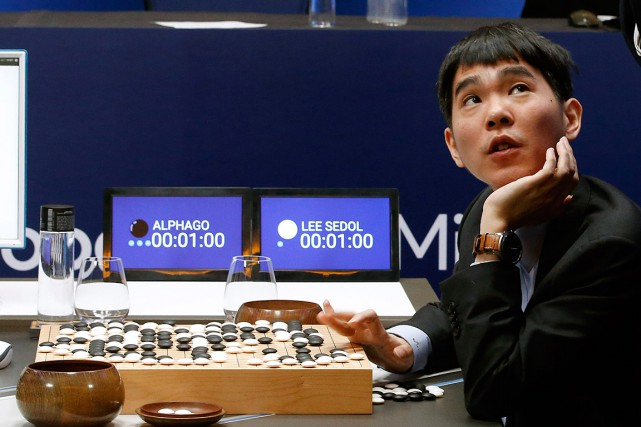Beaucoup de spécialistes du jeu estimaient Lee Se-Dol... (Photo Lee Jin-man, AP)