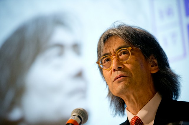 Le maestro Kent Nagano a pris part, hier,... (PHOTO DAVID BOILY, LA PRESSE)