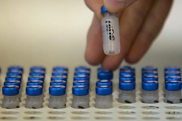 Équipés de nouvelles techniques, le CIO procédera à une nouvelle série de tests... (Photo archives AFP)