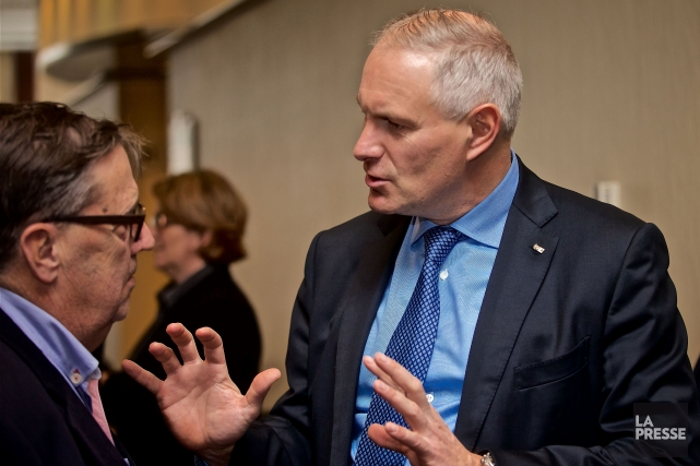 Le président et chef de la direction de... (Photo André Pichette, La Presse)