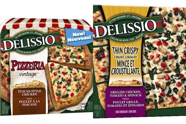 Les produits visés:la Delissio Pizzeria Vintage poulet à... (PHOTOS FOURNIES PAR NESTLÉ CANADA)