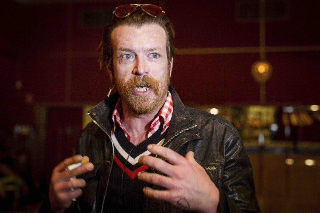 Jesse Hughes, le chanteur et guitariste des Eagles... (Archives AFP)