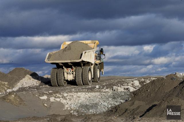 Les investissements miniers au Québec ont poursuivi leur... (archives La Presse)