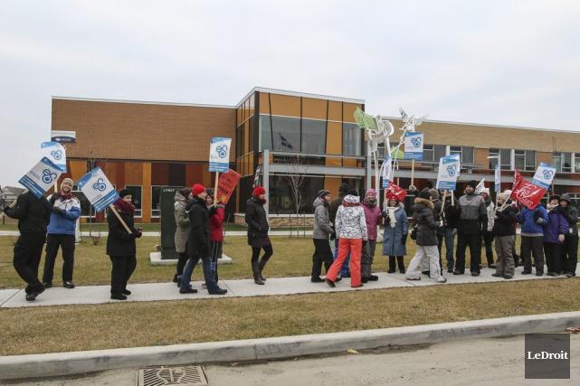 Les enseignants de l'Outaouais se sont prononcés à... (Patrick Woodbury, Archives LeDroit)