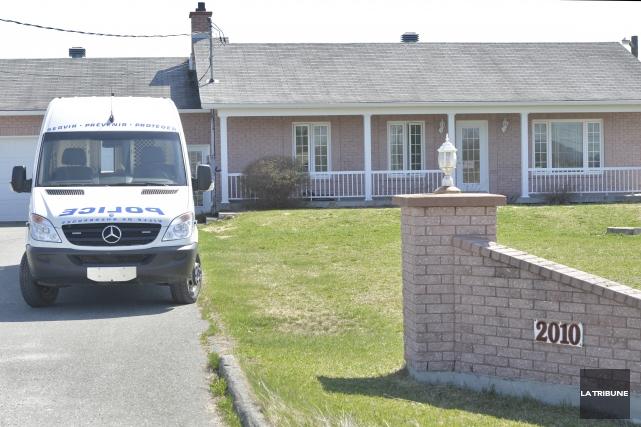 Le Service de police de Sherbrooke avait frappé... (Archives, La Tribune)