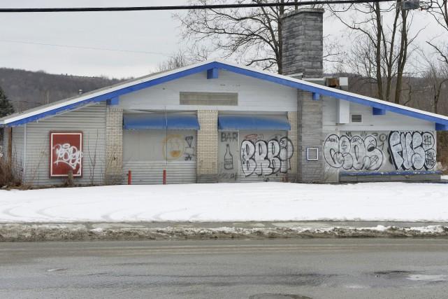 Des bâtiments sont abandonnés depuis des années à Sherbrooke. Pourquoi? Que... (Spectre Média, Maxime Picard)
