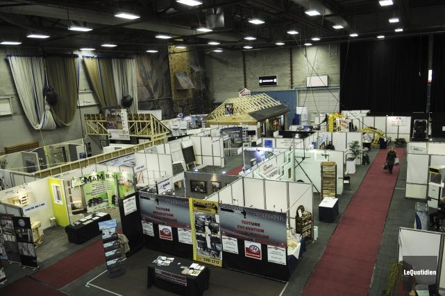 Le Salon Expo habitat accueille cette année 117... (Photo Le Quotidien, Mariane L. St-Gelais)