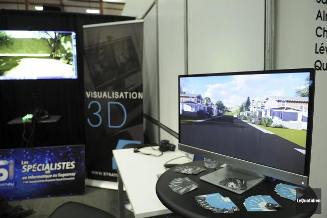 Un projet de réalité virtuelle est coûteux. D'autres... (Photo Le Quotidien, Mariane L. St-Gelais)