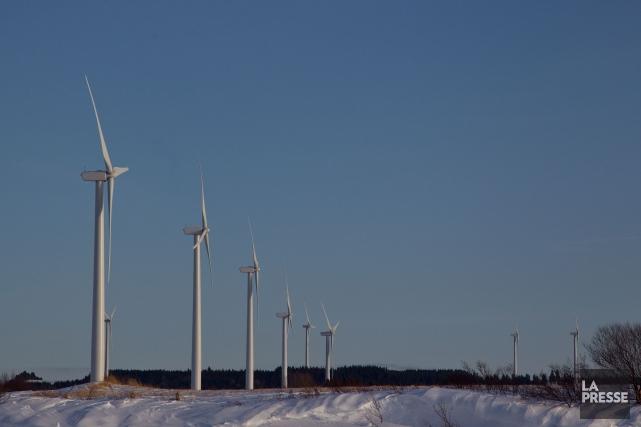 Des éoliennes seront vraisemblablement érigées dans la municipalité de La... (Archives La Presse)