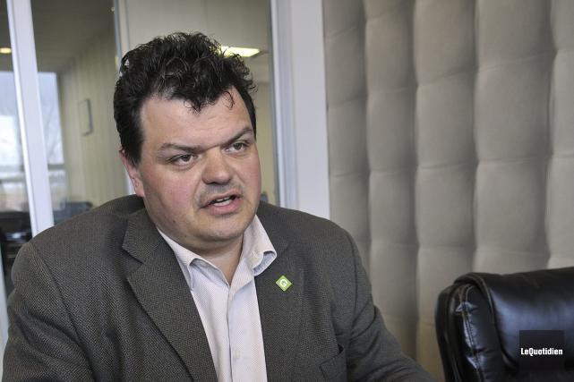 Le président de la firme Gémel ingénierie et... (Photo Le Quotidien, Rocket Lavoie)