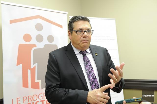 Le président-directeur général du RQRA, Yves Desjardins... (Photo Le Quotidien, Gimmy Desbiens)