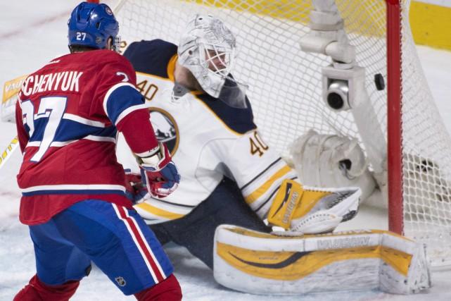 Les deux buts de Galchenyuk lui ont permis... (La Presse Canadienne)