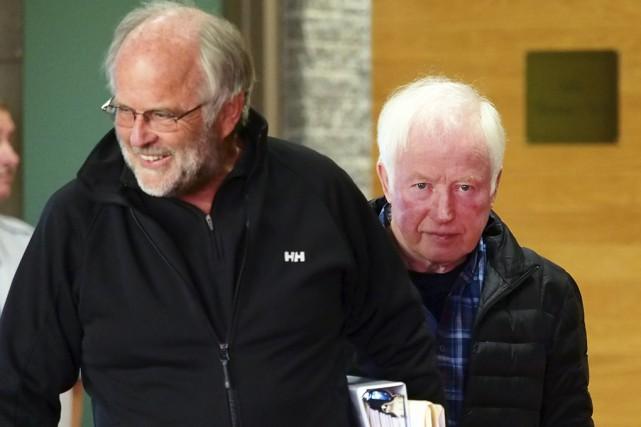 Les accusés au projet Cure, dont Werner Kyling... (photo archives La Voix de l'Est)