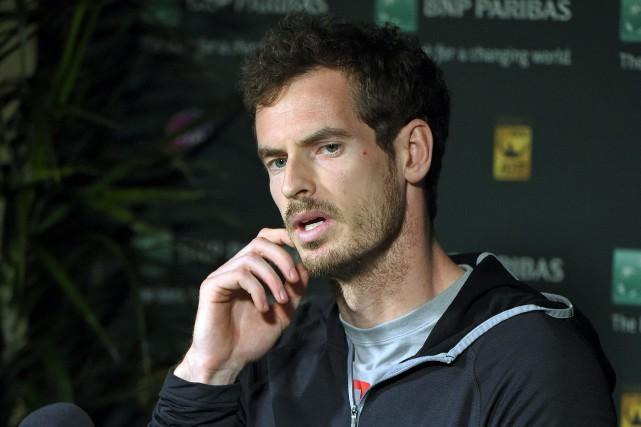 Andy Murray:«Si vous prenez des produits dopants et... (AP, Mark J. Terrill)