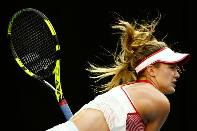 Eugenie Bouchard... (PHOTO THOMAS PETER, ARCHIVES REUTERS)
