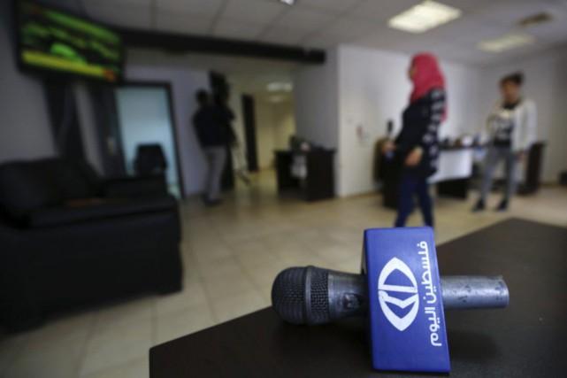 Israël accuse Falestine al-Yom (la Palestine aujourd'hui) d'être... (PHOTO ABBAS MOMANI, AFP)
